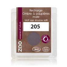 Recharge fard à paupières nacré - violet sombre - 205 - 3 g