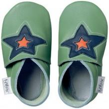 Chaussons 4147 - Vert avec étoile