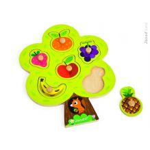 """Puzzle """"arbre gourmand"""" - A partir de 18 mois"""