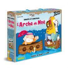 Puzzle 3D géant L'arche de Noé 12 pièces - à partir de 3 ans*