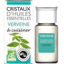 Cristaux d'huiles essentielles à cuisiner - verveine - 10 g