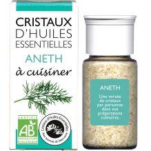 Cristaux d'huiles essentielles à cuisiner - aneth - 18 g