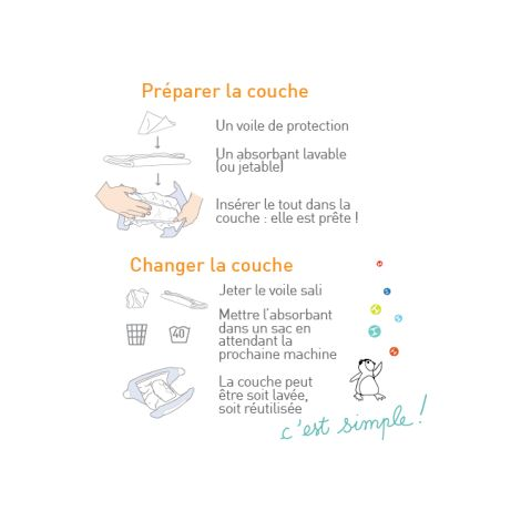 Couche hybride - Taupe