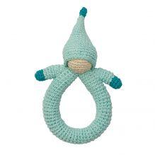 Hochet en crochet Peppa - Poupée bleue - dès la naissance