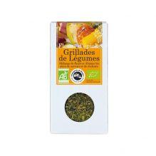 Fleurs d'épices : grillades de légumes - 20 g