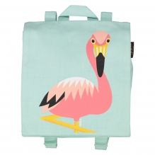 Sac à dos / cartable maternelle - Flamant Rose