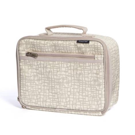 Lunch box isotherme en coton BIO - motif Mesh *