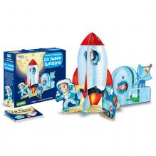 Puzzle 3D géant La fusée lunaire - à partir de 3 ans*