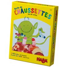 Rafle de chaussettes - Le jeu de cartes - à partir de 4 ans
