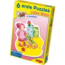 6 premiers puzzles 'Le monde de Lilli' - à partir de 2 ans