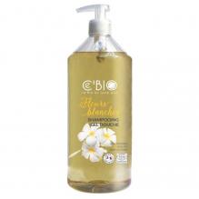 Shampooing Gel douche Bio Fleurs blanches 500 ml