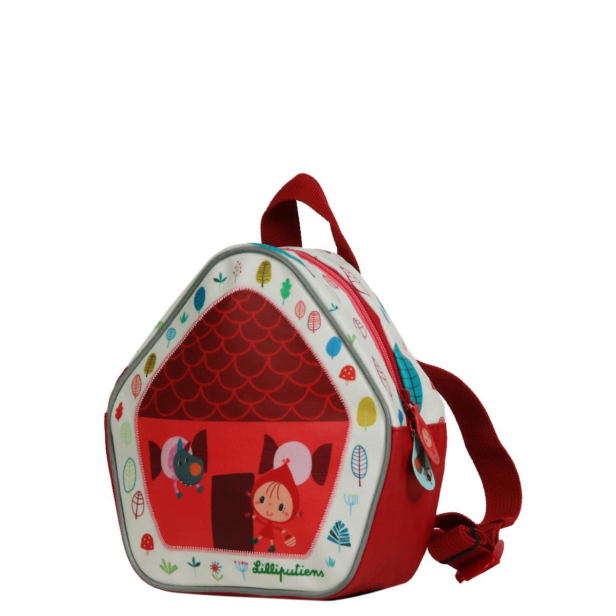 6f1a44bd17 Mini sac à dos Chaperon rouge - Sebio