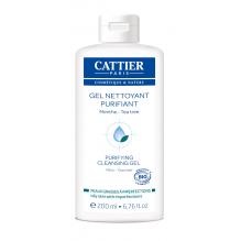 Gel nettoyant purifiant Bio pour peaux grasses à imperfections 200 ml