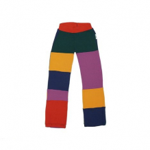 Pantalon en laine Patchwork - Hexa
