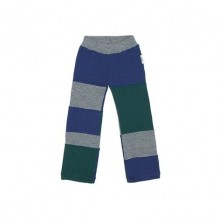 Pantalon en laine Patchwork - Sequoia / Silver / Moonlight
