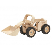 Bulldozer en bois - à partir de 3 ans *