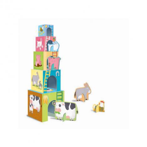 Cubes des animaux Les bébés animaux de la ferme - à partir de 2 ans