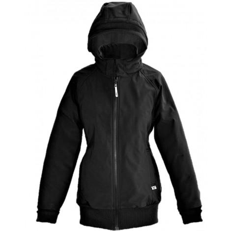 Veste de portage SoftShell - Black / Rock grey
