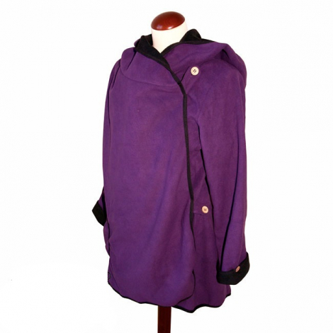 Manteau de maternité - Purple Hummingbird - taille unique
