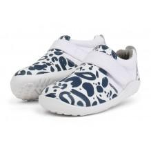 Chaussures I-walk - Aktiv shoe White + Navy - 6339014