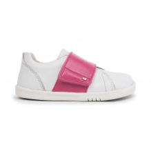 Chaussures I walk - Boston Trainer White + Pink - 635311
