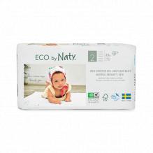 Couches jetables écologiques - Taille 2 Mini (3 à 6 kg) 33 pièces
