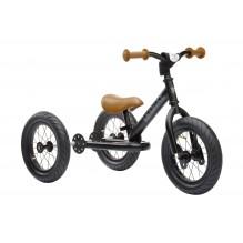 Trybike 2-en-1 noir mat - tricycle