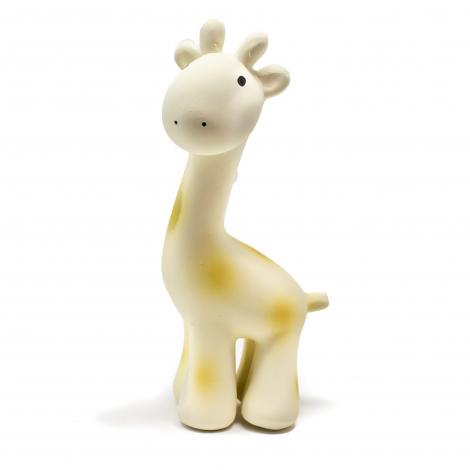 Girafe en caoutchouc naturel avec grelot - Dès la naissance
