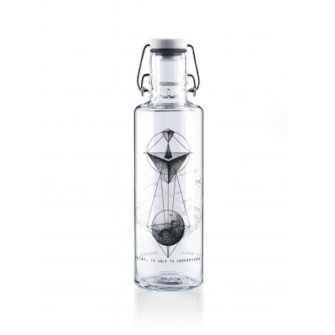 Bouteille en verre 600 ml  - Whoever understands Geometry