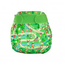 Couche lavable TE1 TeenyFit  V4 - nouveau-né - motif Ride & shine