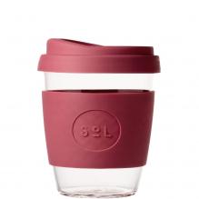 Gobelet en verre avec capuchon à bec - 355 ml - Radiant rosé
