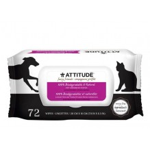 Lingette toilettage animaux domestiques - 72 lingettes