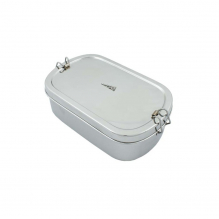 Lunch box oval en inox - Surat - 1700 ml