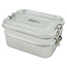 Boîte en inox à deux étages - Buruni - 1300 ml