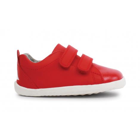 Chaussures Step up - 729704 Grasscourt Waterproof - Red