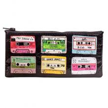 Trousse à crayons en matériaux recyclés - Mixtape