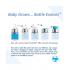 Biberon évolutif en inox - 150 ml - Tétine - Pink swirl