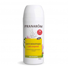 Roller anti-moustique - lait corporel aromapic - 75 ml