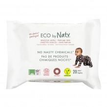 Lingettes douces pour bébé - Sans parfum 100% ECO - 20pcs