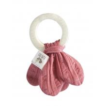 Anneau dentition - Vieux rose - dès la naissance