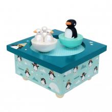 Boîte à musique - Pingouin - à partir de 1 an