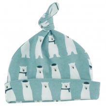 Bonnet en coton BIO - Ours polaire