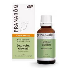 Huile essentielle d'Eucalyptus citronné - BIO - 30 ml
