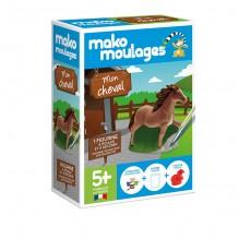 Figurine  à mouler et à décorer - Mon cheval - à partir de 5 ans