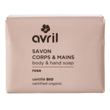 Savon corps et mains BIO - Rose - 100 g