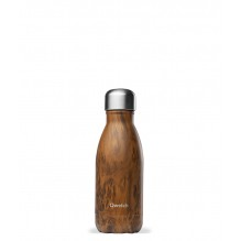 Bouteille isotherme en inox - Bois - 260 ml