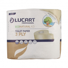 Papier toilette écologique recyclé - 4 rouleaux
