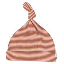Bonnet - Rayures fines - sienna