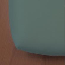 Drap housse Green Clim - 90 x 200 cm - Pétrol clair