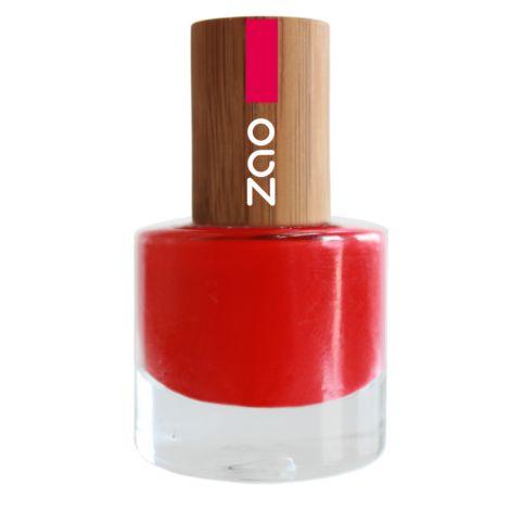 Vernis à ongles - rouge carmin - 650